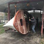 Wooden Boat Restoration at Howe Marine